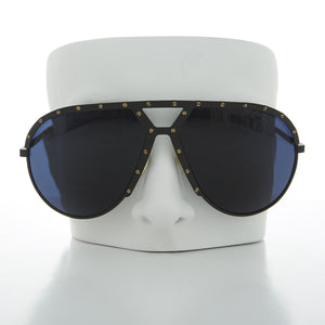 vintage aviator sunglass with studs