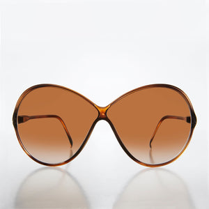 Cris Cross Bug Eye Women's Vintage Sunglass