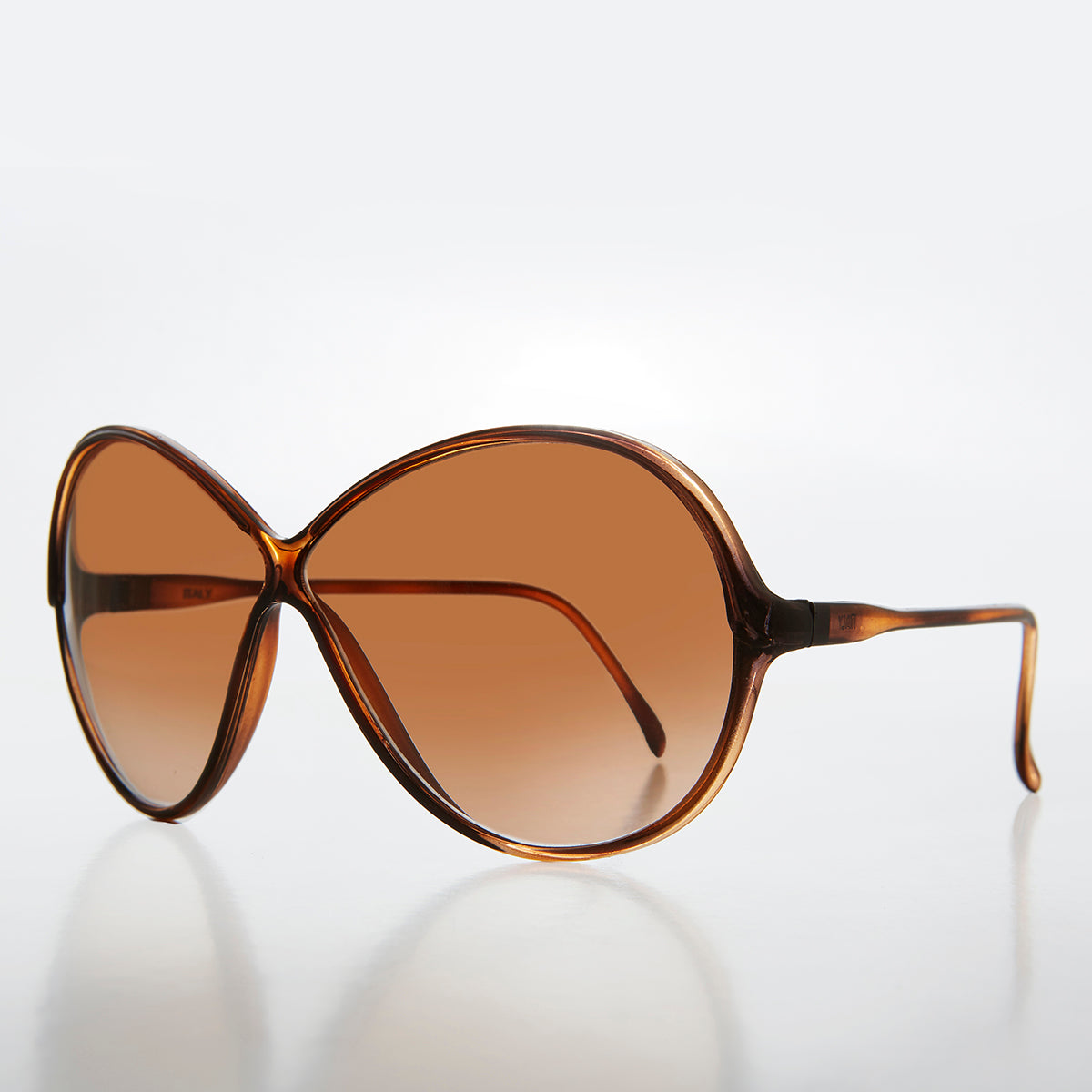 Cris Cross Bug Eye Women's Vintage Sunglass - Sunnie