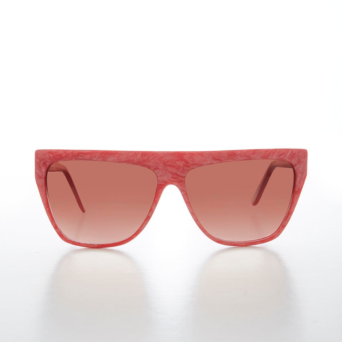 Colorful 80s Flat Top Sunglass