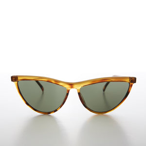 Thin Pointed Tip Vintage Cat Eye Sunglass - Tiff