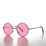 Load image into Gallery viewer, Round Hippy Colored Lens John Lennon Sunglass