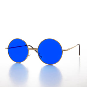 Round Hippy Colored Lens John Lennon Sunglass