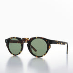 Load image into Gallery viewer, round cut-out design retro sunglass