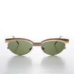 Women's 90s Floating Lens Cat Eye Vintage Sunglass
