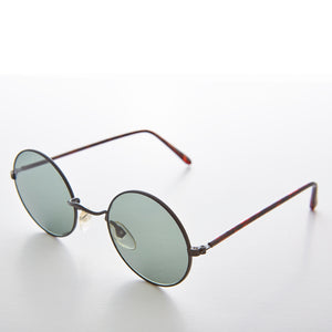 round john lennon vintage sunglass with glass lens
