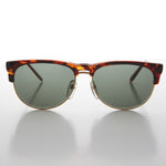 Load image into Gallery viewer, tortoise shell half frame horn rim vintage sunglass
