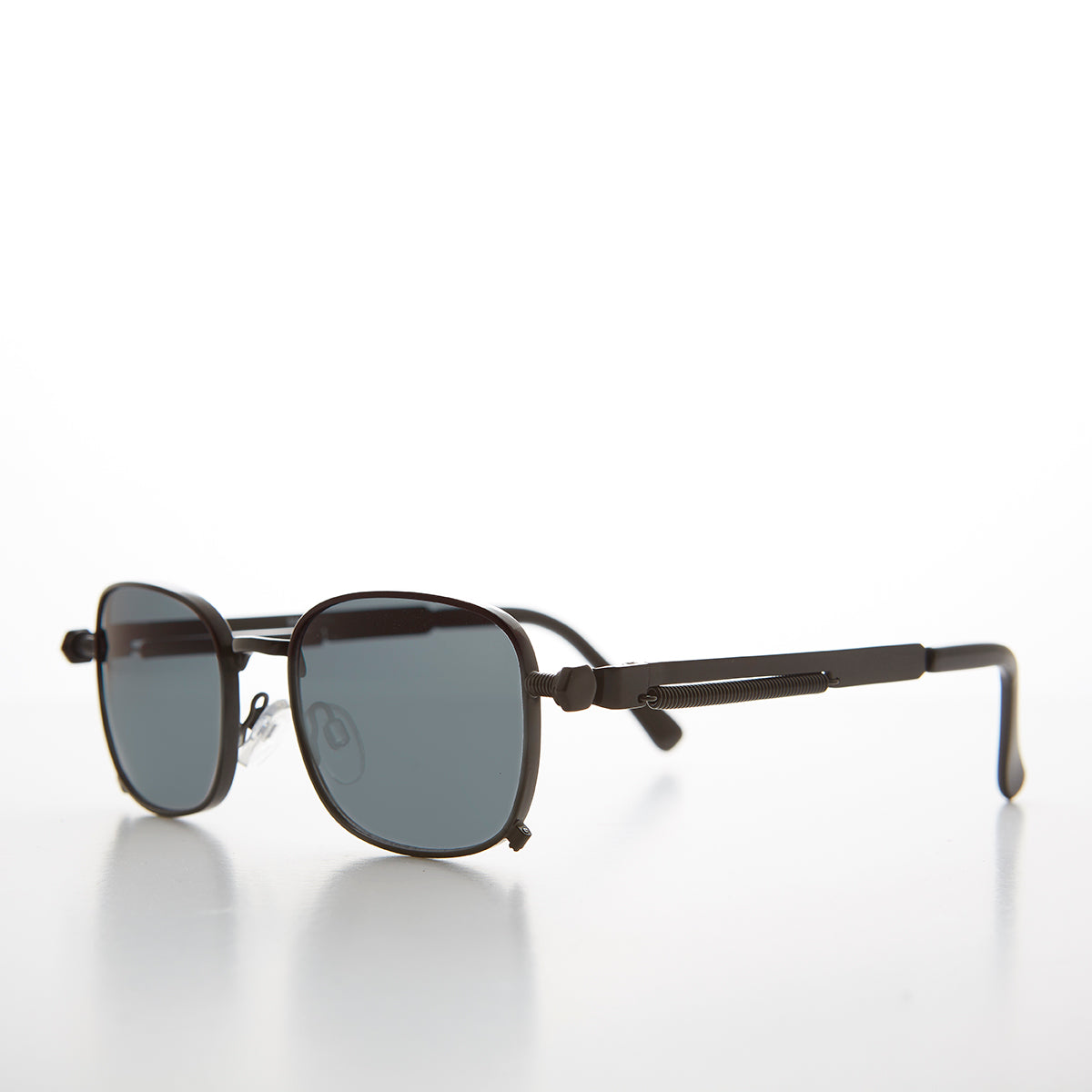 Tailored Steampunk Sunglasses with Industrial Temples