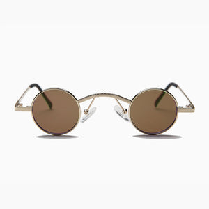 Round Victorian Tiny Spectacle Sunglass