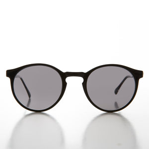 2a45709db3 Horn Rim Round 60s Andy Warhol Vintage Sunglasses - Wesley – Sunglass Museum