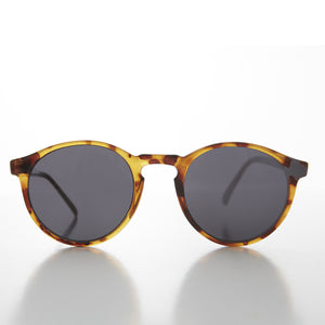 round horn rim andy warhol sunglasses