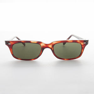 horn rim rectangle vintage sunglass