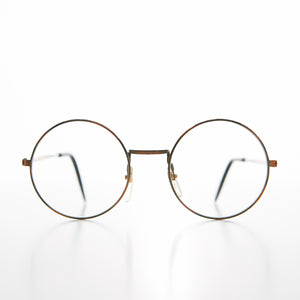 Small Round John Lennon Frame with Clear Lens Deadstock