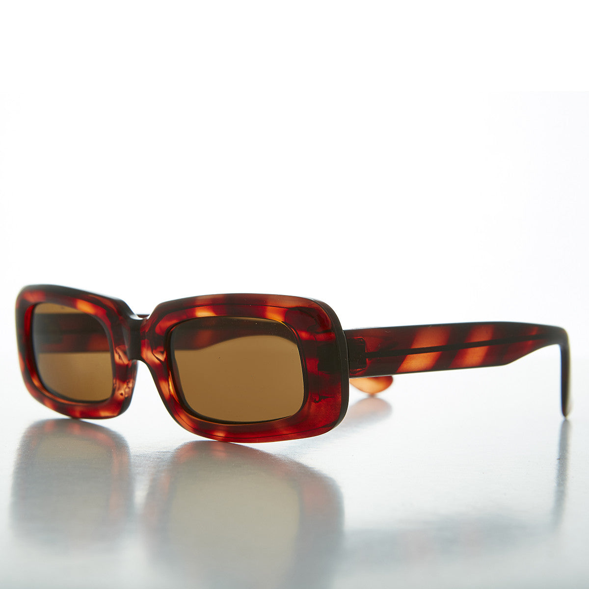 mod rectangle vintage sunglasses