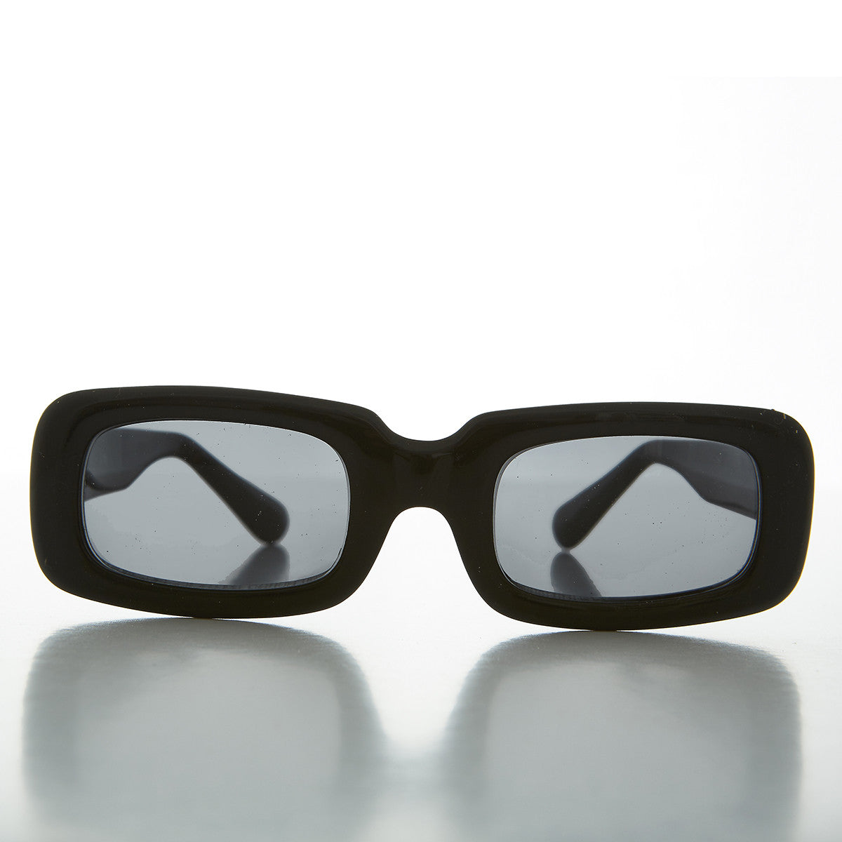 Mod Beatnik Rectangular Rare Punk Vintage Sunglasses - Yoko
