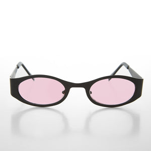 pink color lens sunglass