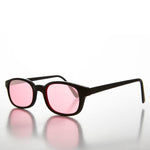 Load image into Gallery viewer, pink rectangular colored lens sunglass