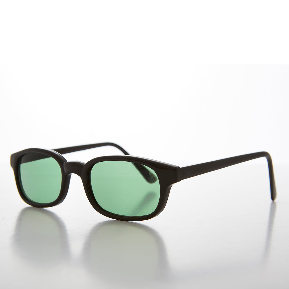 green colored lens sunglass