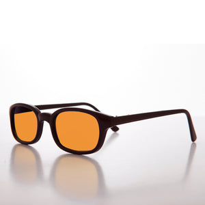 yellow colored lens sunglass