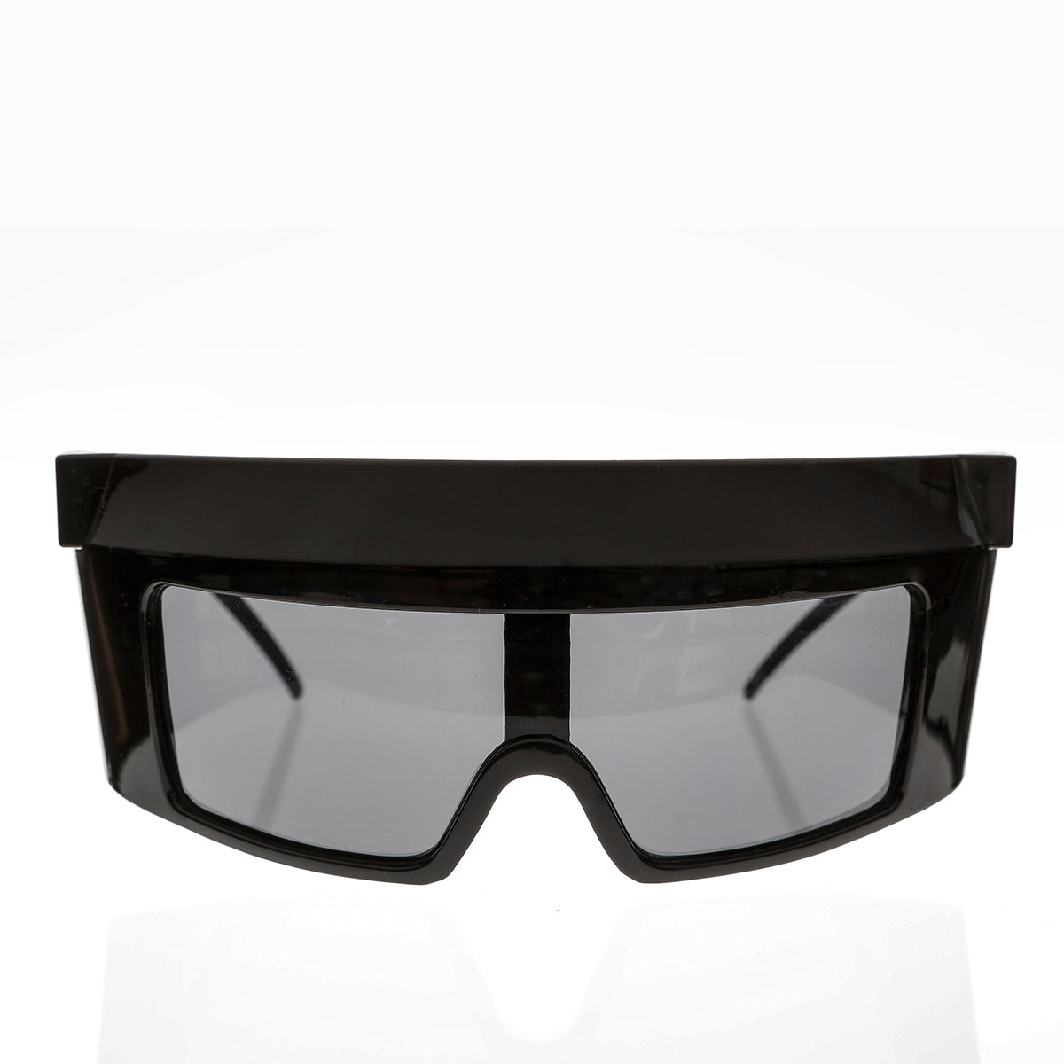 Extra Large Wrap Around Futuristic Deadstock Sunglass