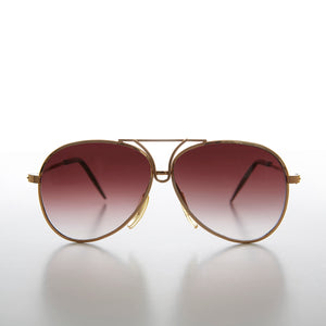 Kids Gold Rare Aviator Vintage Sunglass