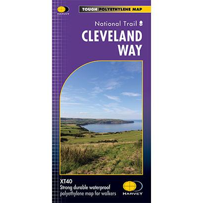 Cleveland Way Harvey map-The Trails Shop