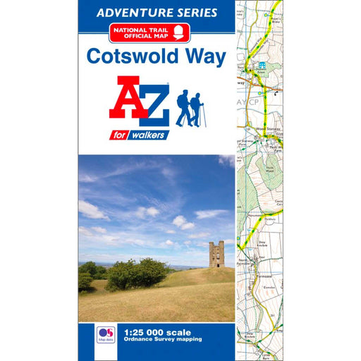 Cotswold Way A-Z Adventure Atlas-The Trails Shop
