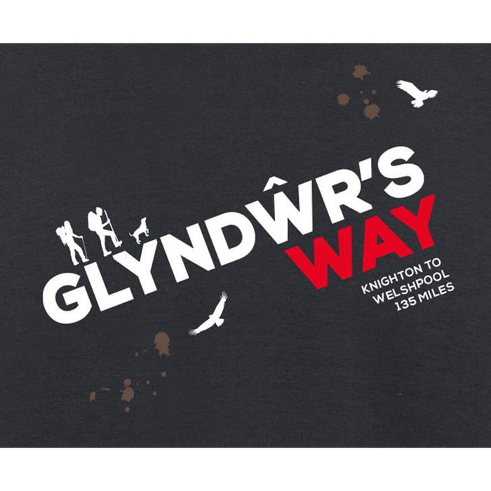 Glyndwr's Way Hiking T-Shirt-The Trails Shop