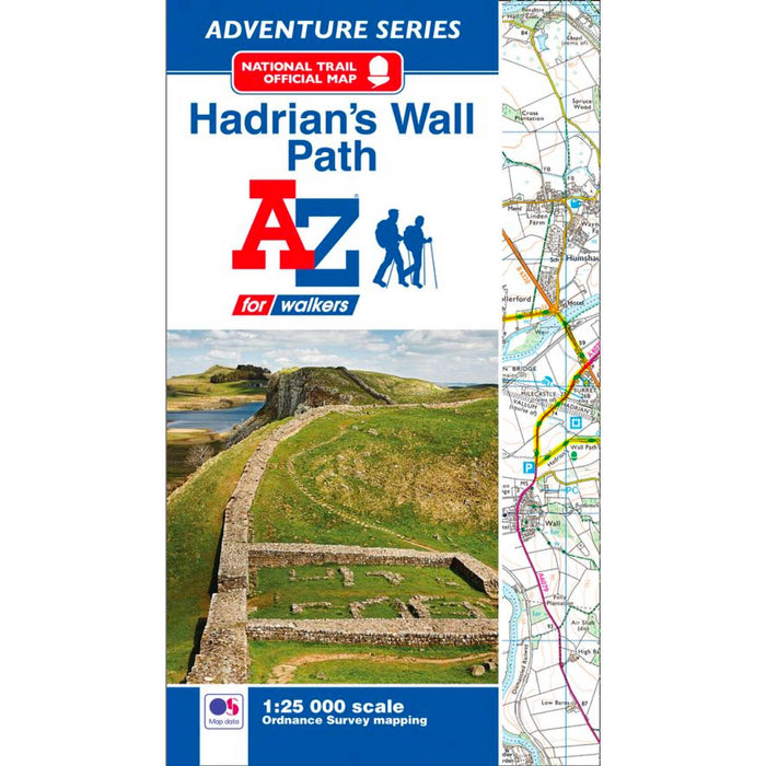 Hadrian's Wall Path A-Z Adventure Atlas-The Trails Shop