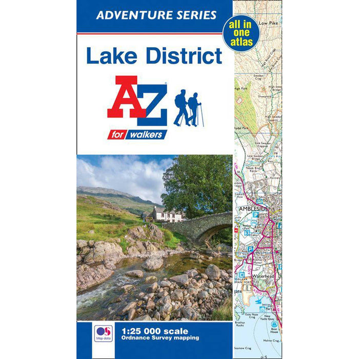 Lake District A-Z Adventure Atlas-The Trails Shop