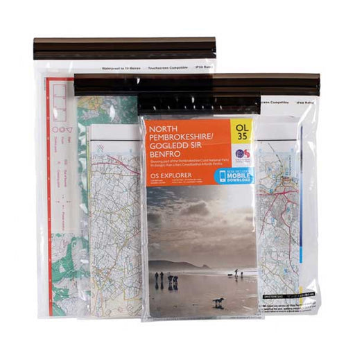 Lifeventure DriStore Waterproof Map Case Set-The Trails Shop