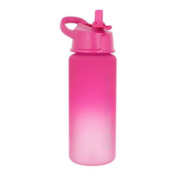 Lifeventure Flip-Top Water Bottle-Pink-The Trails Shop