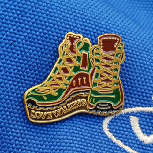 Love Walking Pin / Lapel Badge-The Trails Shop