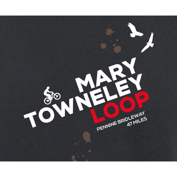 Mary Towneley Loop Mountain Biking T-Shirt-The Trails Shop
