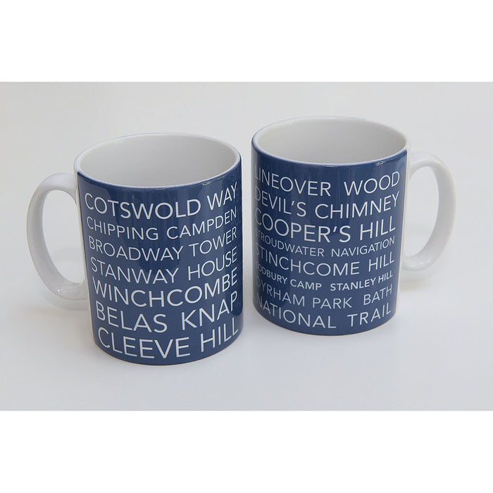 National Trail Mug-Cotswold Way-The Trails Shop
