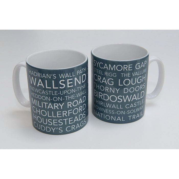 National Trail Mug-Hadrian's Wall Path-The Trails Shop