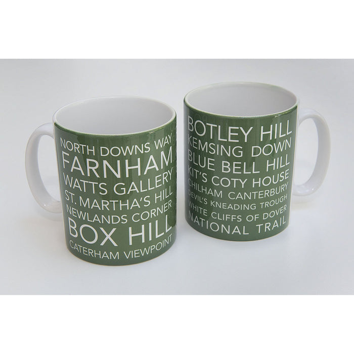 National Trail Mug-North Downs Way-The Trails Shop
