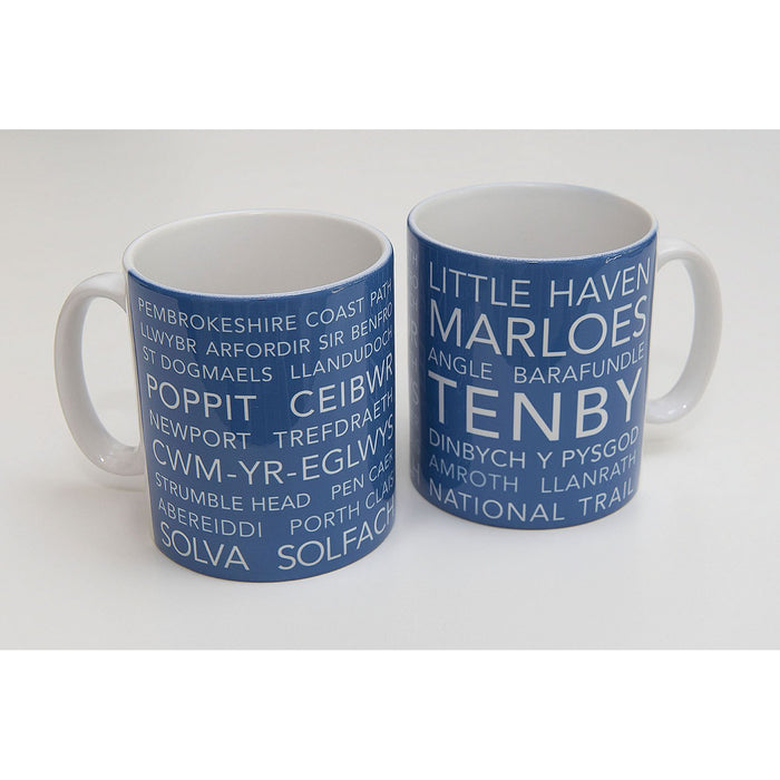 National Trail Mug-Pembrokeshire Coast Path-The Trails Shop