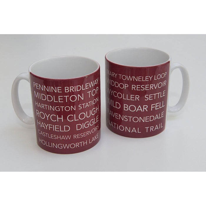 National Trail Mug-Pennine Bridleway-The Trails Shop