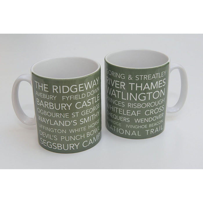 National Trail Mug-The Ridgeway-The Trails Shop