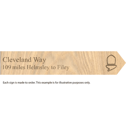 National Trail souvenir signs-Cleveland Way-The Trails Shop