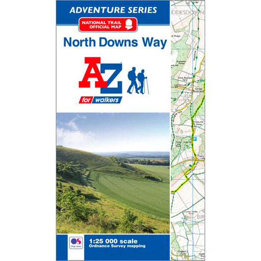 North Downs Way A-Z Adventure Atlas-The Trails Shop