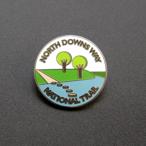 North Downs Way enamel badge-The Trails Shop