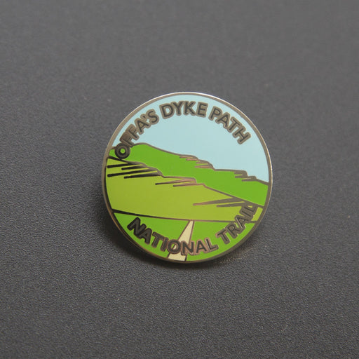 Offa's Dyke Path enamel badge-The Trails Shop