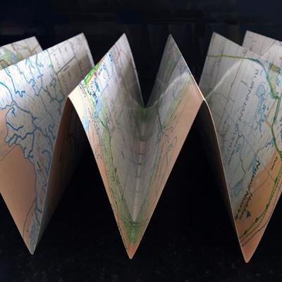 Peddars Way Zigzag map - Knettishall Heath to Castle Acre-The Trails Shop
