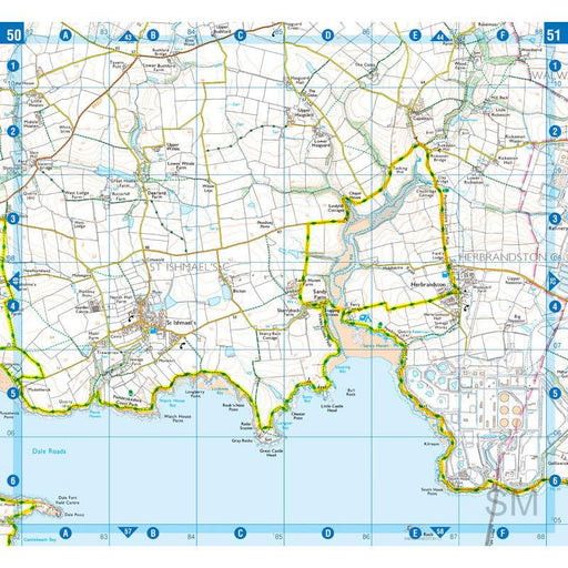 Pembrokeshire Coast Path A-Z Adventure Atlas-The Trails Shop