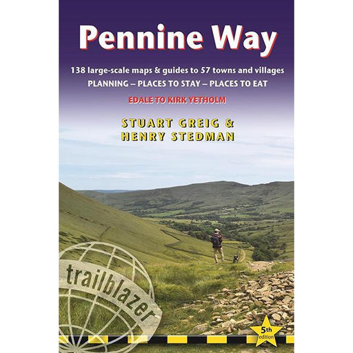 Pennine Way: Edale to Kirk Yetholm (Trailblazer)-The Trails Shop