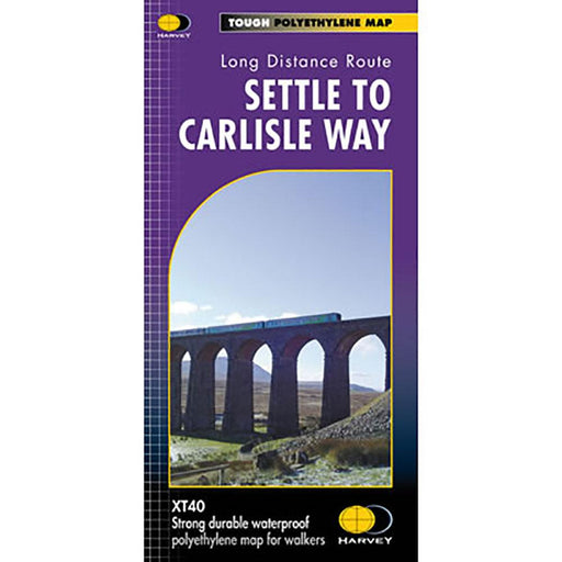 Settle to Carlisle Way Harvey map-The Trails Shop