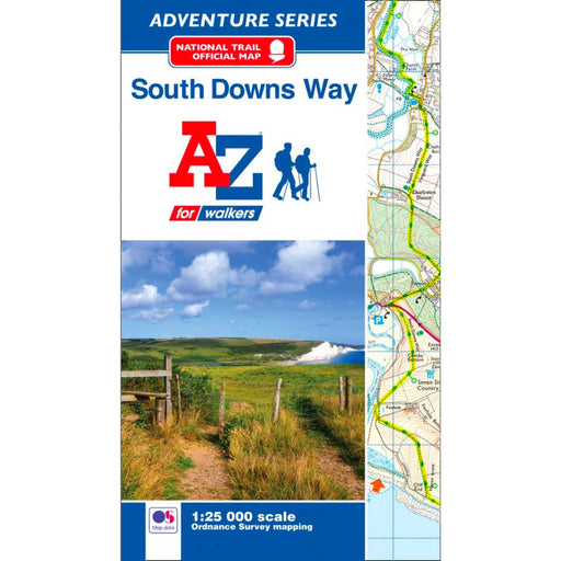 South Downs Way A-Z Adventure Atlas-The Trails Shop