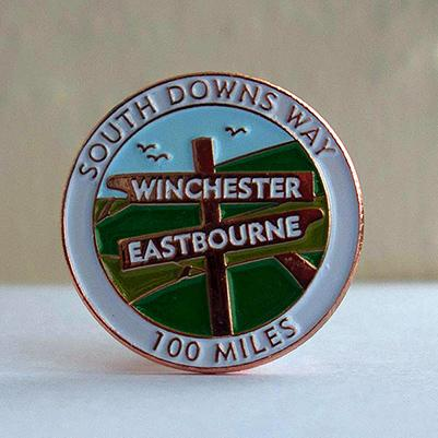 South Downs Way Pin / Lapel Badge-The Trails Shop